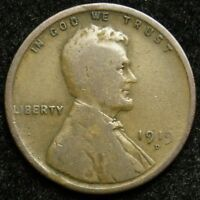 1919 D LINCOLN WHEAT CENT PENNY G GOOD  B01