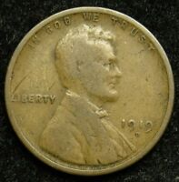 1919 D LINCOLN WHEAT CENT PENNY G GOOD  B03