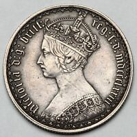 1873 QUEEN VICTORIA GREAT BRITAIN SILVER FLORIN TWO SHILLING