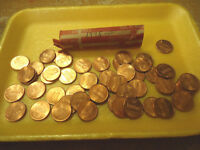 1995 P LINCOLN CENT ROLL REDS     WE COMBINE SHIPPING