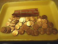 1996 P LINCOLN CENT ROLL REDS     WE COMBINE SHIPPING