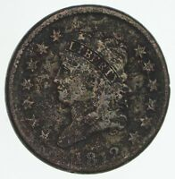 1812 CLASSIC HEAD LARGE CENT - CIRCULATED 4167