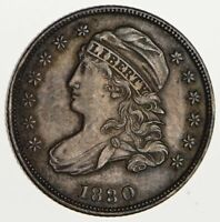 1830 CAPPED BUST DIME - CIRCULATED 1747