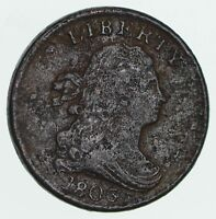 1803 DRAPED BUST HALF CENT - CIRCULATED 3588
