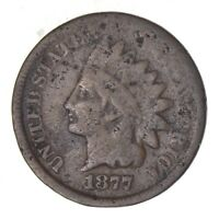 1877 INDIAN HEAD CENT - CIRCULATED 8124