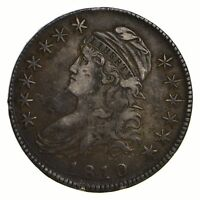 1810 CAPPED BUST HALF DOLLAR - CIRCULATED 2141