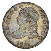 1821 CAPPED BUST DIME - CIRCULATED 0079