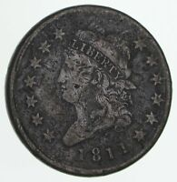 1811 CLASSIC HEAD LARGE CENT - CIRCULATED 4158