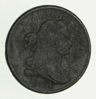 1804 DRAPED BUST HALF CENT - CIRCULATED 2801