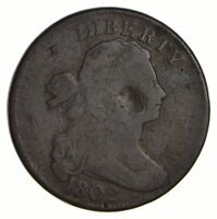 1802 DRAPED BUST LARGE CENT - CIRCULATED 2572