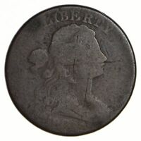 1801 DRAPED BUST LARGE CENT - CIRCULATED 2573