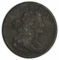 1802 DRAPED BUST LARGE CENT- CIRCULATED 2769