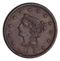 1841 BRAIDED HAIR LARGE CENT - CIRCULATED 1473