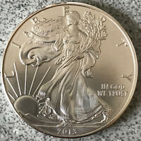 2013 AMERICAN SILVER EAGLE UNCIRCULATED DOLLAR 1 OZ .999 FINE SILVER BULLION