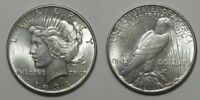 X836  1934 PEACE DOLLAR, AU/BU - PART OF A LARGE DOLLAR COLLECTION