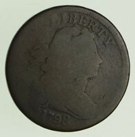 1798 DRAPED BUST LARGE CENT - CIRCULATED 5617