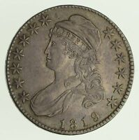 1819 CAPPED BUST HALF DOLLAR - CIRCULATED 4168