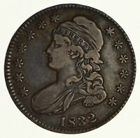 1832 CAPPED BUST HALF DOLLAR - CIRCULATED 6183
