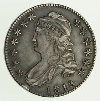 1819 CAPPED BUST HALF DOLLAR - CIRCULATED 4175