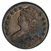 1826 CAPPED BUST HALF DOLLAR - CIRCULATED 1159