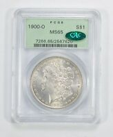 MINT STATE 65 1900-O CAC MORGAN SILVER DOLLAR - PCGS GRADED 5900