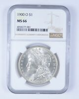 MINT STATE 66 1900-O MORGAN SILVER DOLLAR - NGC GRADED 6094
