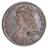 1819 CAPPED BUST HALF DOLLAR - CIRCULATED 1522