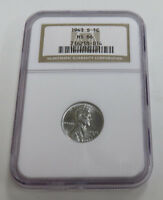 1943- S LINCOLN STEEL CENT NGC MINT STATE 66