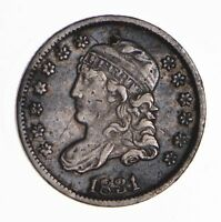 1831 CAPPED BUST HALF DIME - CIRCULATED 8450