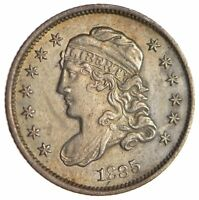 1835 CAPPED BUST HALF DIME - CIRCULATED 1703