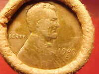 OLD ROLL LINCOLN WHEAT CENT PENNY 1909 VDB / 1909 S ENDS SAN
