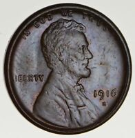 1916-S LINCOLN WHEAT CENT - CIRCULATED 1670