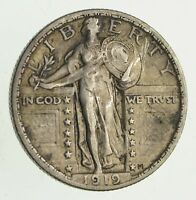 1919 STANDING LIBERTY SILVER QUARTER - CIRCULATED 9504