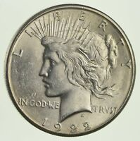 1922-S PEACE SILVER DOLLAR -NOT CIRCULATED 9897