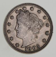 1905 LIBERTY V NICKEL - WITH CENTS - NEAR UNCIRCULATED 7068