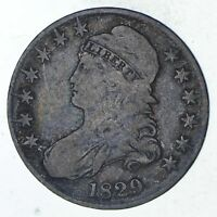 1829 CAPPED BUST HALF DOLLAR - CIRCULATED 9299