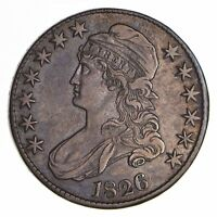 1826 CAPPED BUST HALF DOLLAR - CIRCULATED 9024