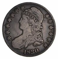 1830 CAPPED BUST HALF DOLLAR - CIRCULATED 9048