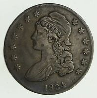 1834 CAPPED BUST HALF DOLLAR - CIRCULATED 9443