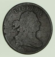 1803 DRAPED BUST HALF CENT - CIRCULATED 8693
