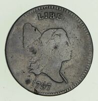 1797 1/1 LIBERTY CAP HALF CENT - CIRCULATED 4715