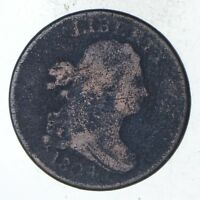1804 DRAPED BUST HALF CENT - CIRCULATED 9332
