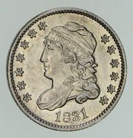 1831 CAPPED BUST HALF-DIME - NOT CIRCULATED 4736