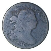 1798 DRAPED BUST LARGE CENT - CIRCULATED 0222
