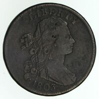 1803 DRAPED BUST LARGE CENT - CIRCULATED 4683