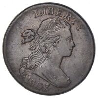 1803 DRAPED BUST LARGE CENT - CIRCULATED 6945