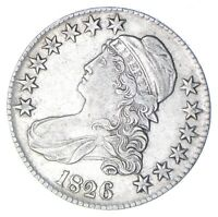 1826 CAPPED BUST HALF DOLLAR - CIRCULATED 0268
