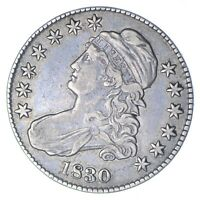 1830 CAPPED BUST HALF DOLLAR - CIRCULATED 0265