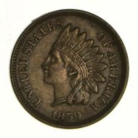 1859 INDIAN HEAD CENT - NEAR UNCIRCULATED 7297