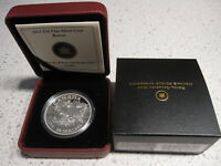 2013 $20 CANADA FINE SILVER COIN   BEAVER. WITH CASE COA & BOX. NO TAX